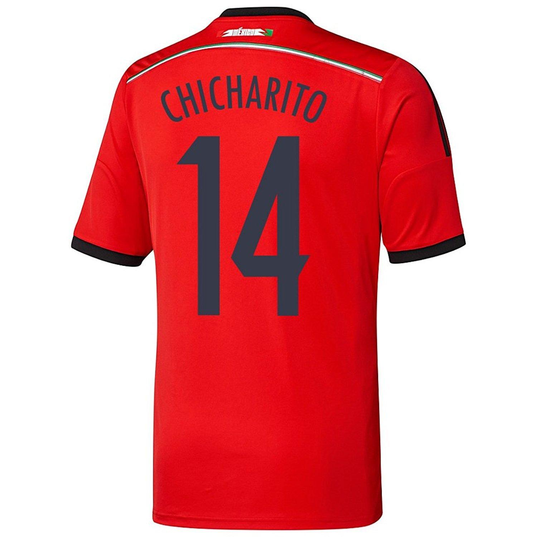 3521e0502db Amazon.com  adidas CHICHARITO  14 Mexico Away Jersey World Cup 2014 Youth.   Clothing