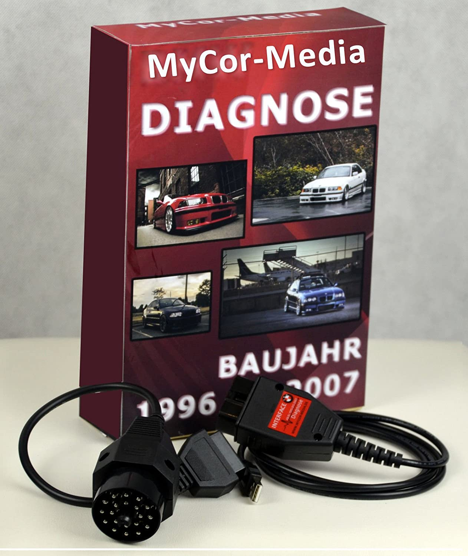 Diagnostic pour BMW kdiag Pro OBD OBD2 inpa Rheingold Ista NCS Expert Logiciel applications MyCor-Media