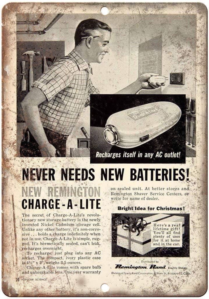 Lorenzo Remington Rand - Placa de metal para afeitadora eléctrica ...