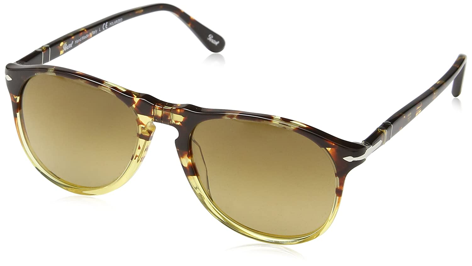 Persol 9649S 1024M2 Ebano E Oro 9649S Oval Sunglasses Polarised Lens Category  3  Amazon.in  Clothing   Accessories 5cac486bce