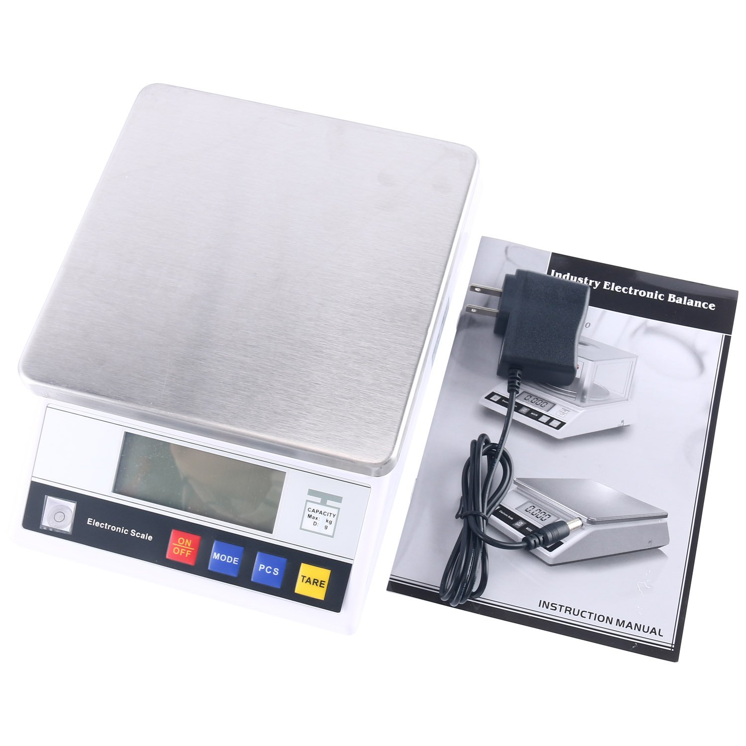 High Precision 10kg x0.1g Digital Accurate Balance with Counting Function Lab Scale by YaeCCC