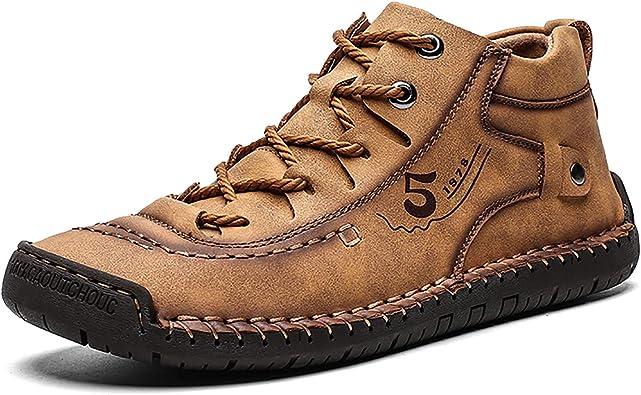 COSIDRAM Mens Casual Boots Hand