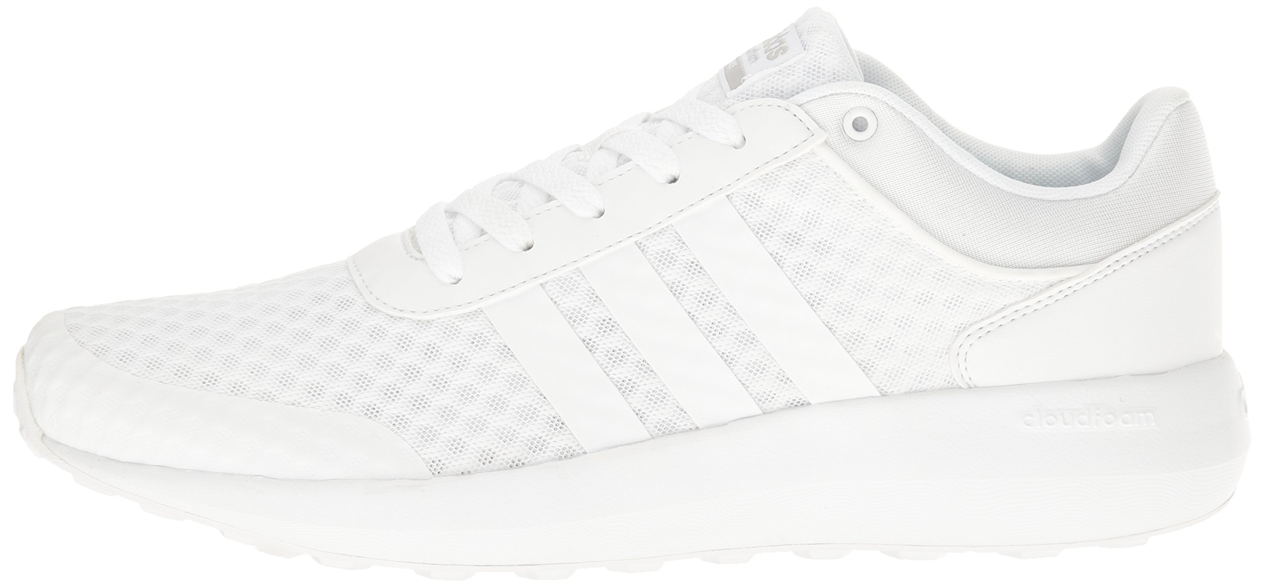 adidas Men's Cloudfoam Race Running Shoe, White/Clear Onix, 9 D-Medium by adidas (Image #5)