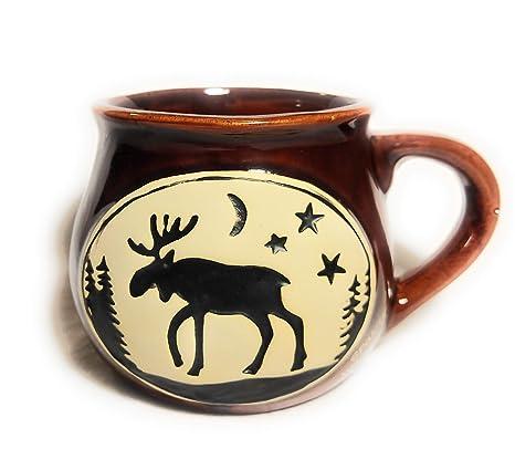 MOOSE COFFEE POT  ~ CERAMIC