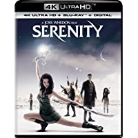 Serenity 4K UHD + Blu-ray + Digital HD Deals