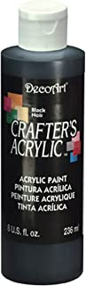 product image for DecoArt DCA47-9 Crafters Acrylic, 8-Ounce, Black