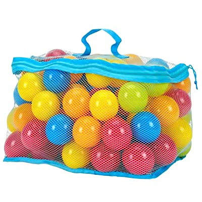 OhhGo 100Pcs/Set 6cm Multi-Colors Ocean Balls Set Baby Toddler Kids Toys: Home & Kitchen