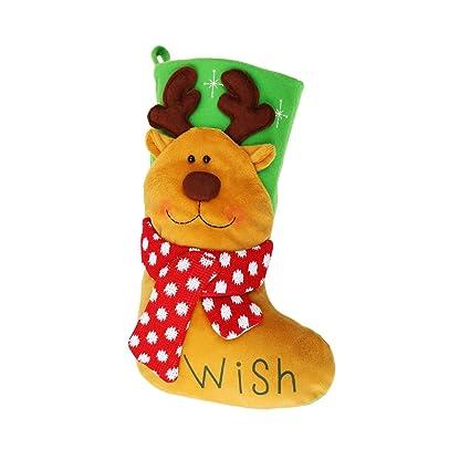 Christmas Shop - Calcitin con diseño de personajes navideños modelo Bright Character (Talla Única/