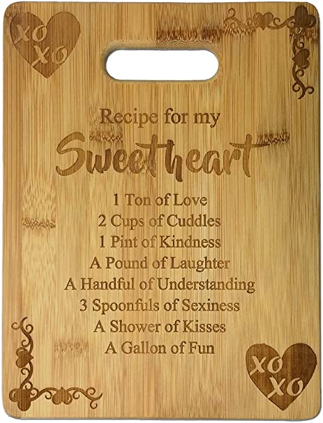 Add names and date Special Anniversary Laser Cut /& Engraved Bamboo Wood Customised Cute Picture Frame Gift Sweet Birds in Love