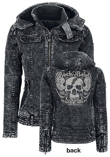 Rock Jacke Jacket Voltage Rebel Emp By High Girl Skull CxBredo