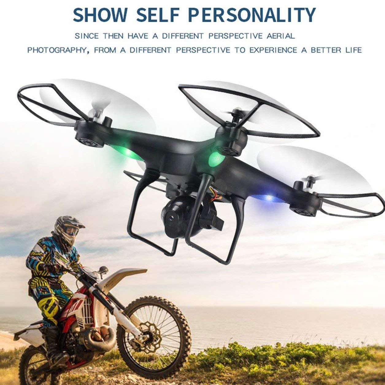 Dailyinshop D68W-3 720 P HD WiFi Kamera FPV RC Drone mit Höhe Halten Headless Modus (Farbe: Schwarz)