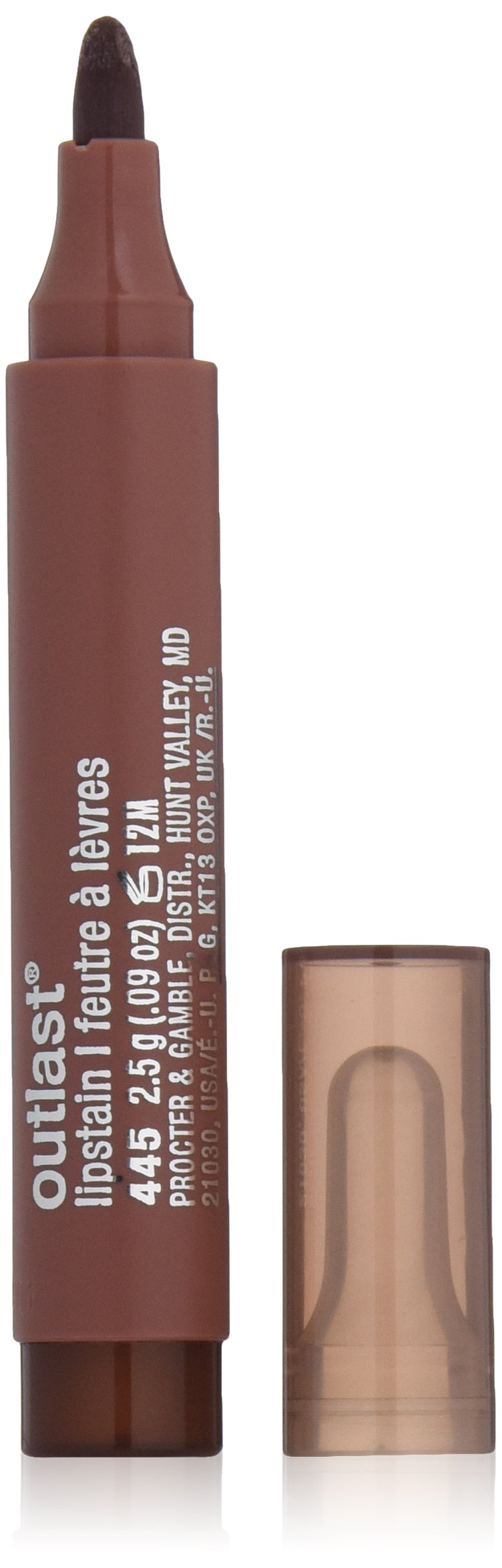 CoverGirl Lip Products CoverGirl Outlast Lipstain, Cinnamon Smile 445, 0.09-Ounce Packages (Pack of 2)