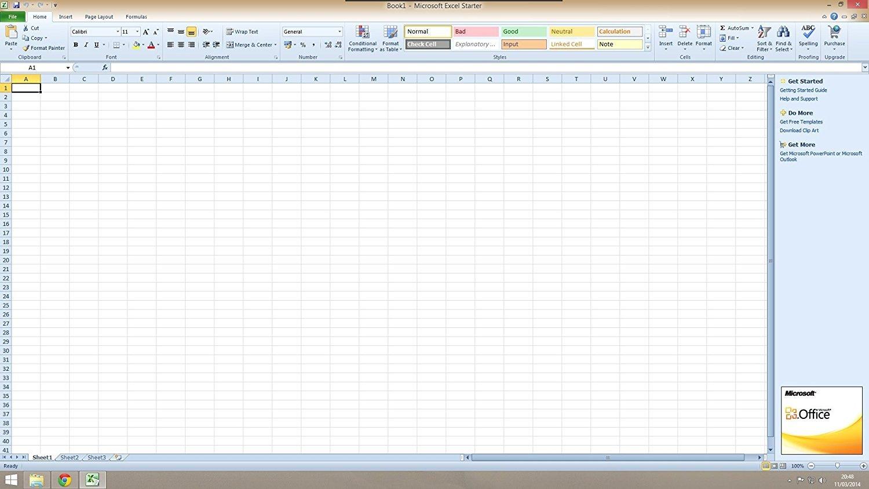 Microsoft Office 2010 Starter for Windows 10