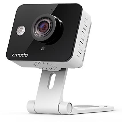 Zmodo True HD Mini WiFi Wireless Wide Angle Indoor Home Video Security  Camera Two-Way Audio, Cloud Service Available