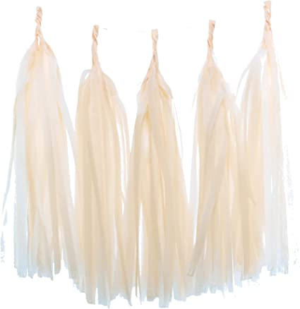 Bachelorette Gold Tissue Tassel Garland NYE Banner Tissue Tassel Banner Party Decorations 20 pc Tissue Tassel Banner Polka Dot