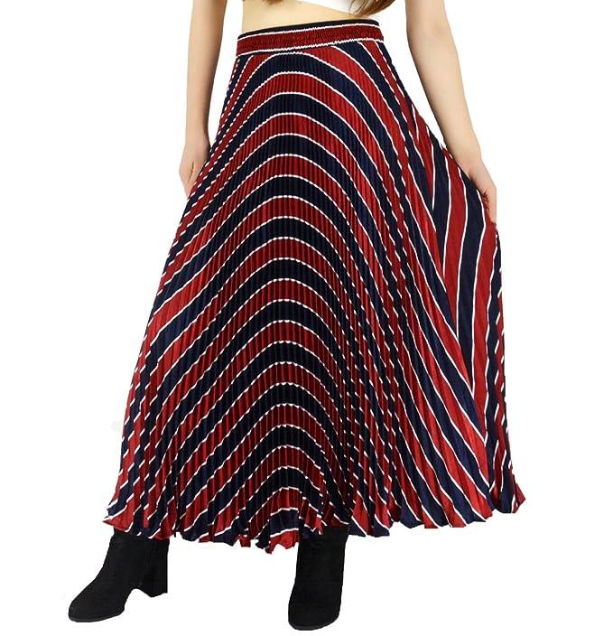 YSJ Womens Long Maxi Skirt - 35 4