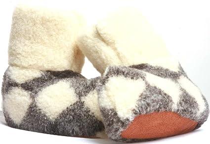 WOOL MEN/'S GENUINE SHEEPSKIN SLIPPERS BOOTS 100/% PURE