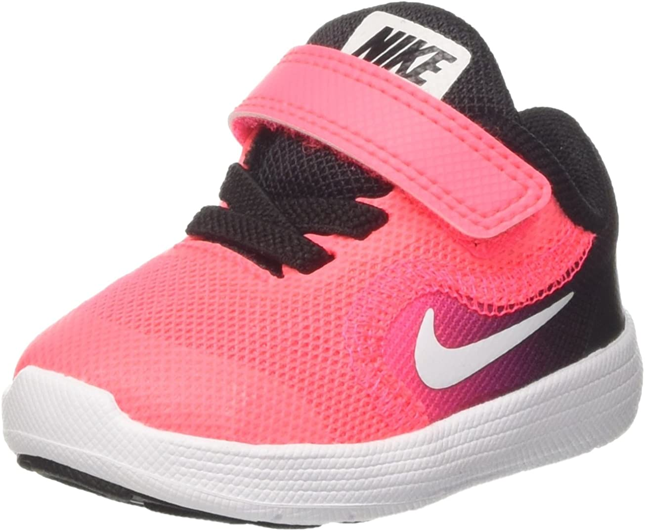 Nike Revolution 3 Gtv, Sneakers para Niñas, Multicolor (Black/White/Racer Pink), 17 EU: Amazon.es: Zapatos y complementos