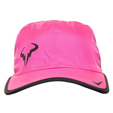 Nike - Rafael Nadal Bull Featherlight tennis cap (pink)  Amazon.co ... 1198af46eb7