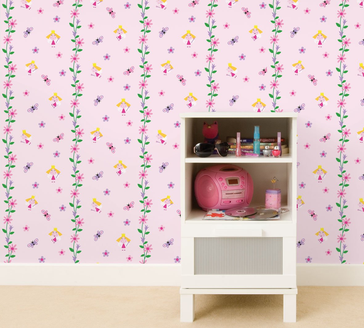 Fun4walls ben and holly wallpaper amazon kitchen home amipublicfo Images