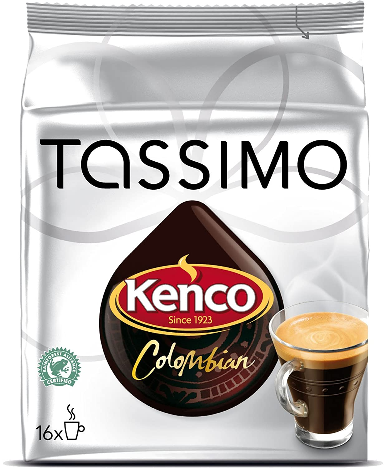 Tassimo Kenco Colombian Coffee T-Discs: Amazon.com: Grocery ...