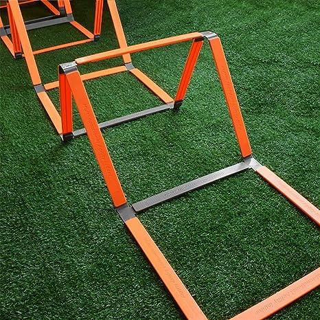 Xin 11 El peldaño de Escalera Multifuncional ágil, Equipo de Entrenamiento de fútbol, Escalera de Mano obstáculo Doble propósito Velocidad, Escalera Plegable portátil de formación Que Tenga: Amazon.es: Deportes y aire libre
