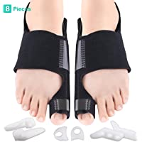 Bunion Corrector & Bunion Relief Kit, Bunion Splint Toe Separator Toe Spacer Straightener Brace for Bunion, Overlapping Toes,Hammer Toes, Hallux Valgus Pain Relief for Men & Women by MANGZ
