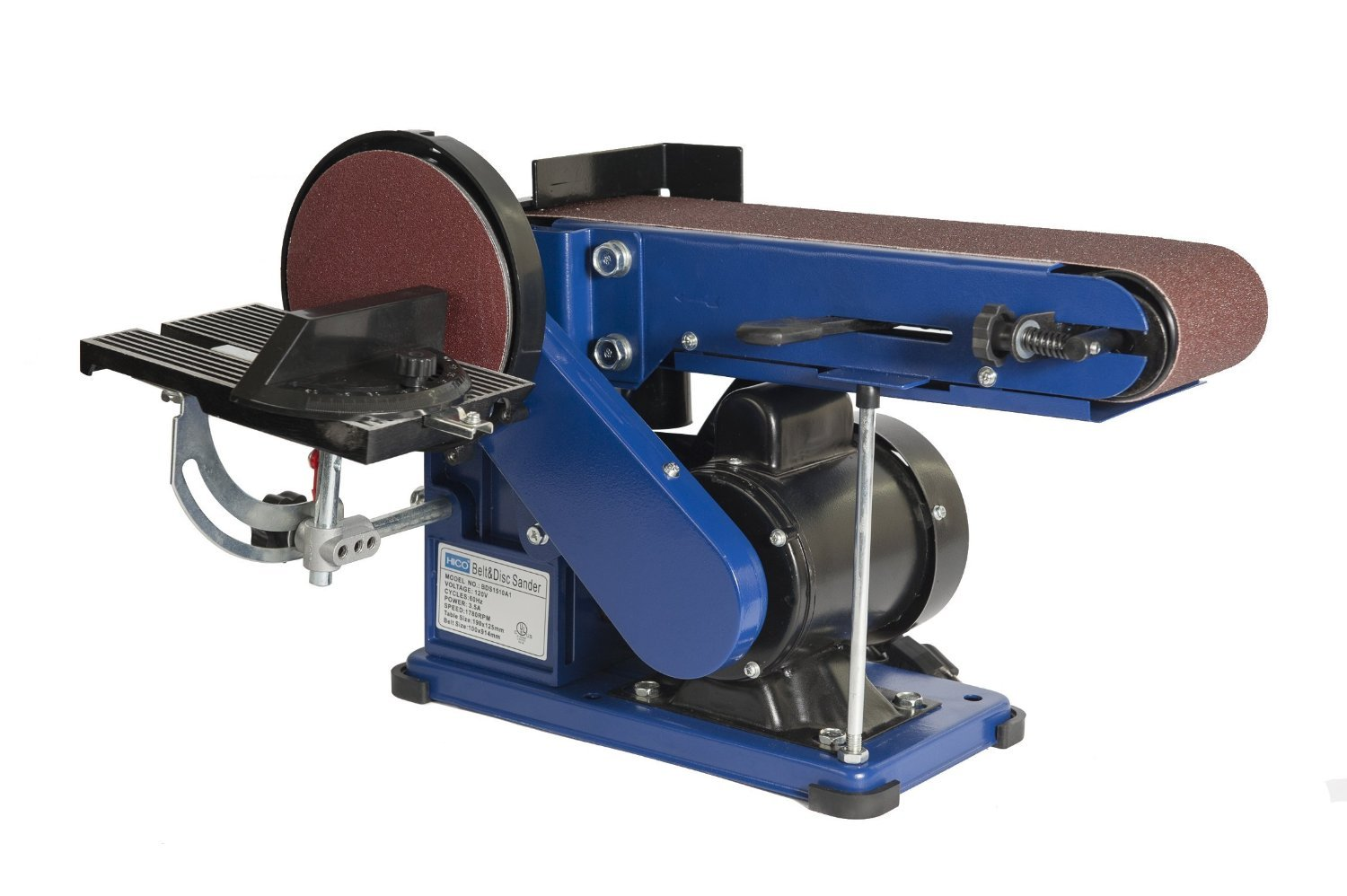 HICO Woodworking 4 x 6-inch Belt and Disc Sander, Wholesale