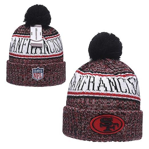 new arrival 22d8b c8157 Amazon.com  JOE JOURNEYMAN San Francisco 49ers Cold Weather Sport Knit Cap   Clothing