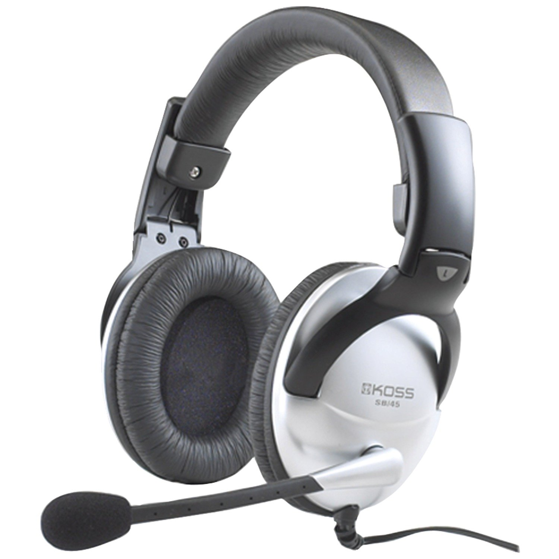 Koss Multimedia Stereo Headphone with USB Plug (SB45 USB) SB45-USB
