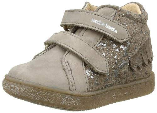 babybotte Azteke, Sneaker a Collo Alto Bambina, Marrone (Taupe Splash 183), 19 EU