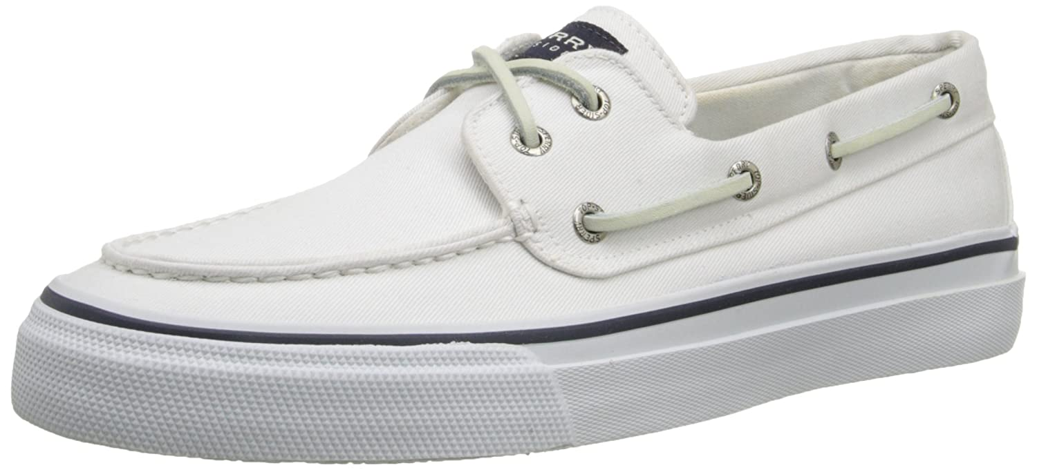 TALLA 43 EU. Sperry Bahama Canvas, Mocasines de Lona Para Hombre