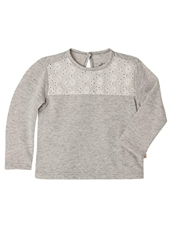 OFFCORSS Baby Girl Long Sleeve Solid Color Soft Cotton Embroidered Tshirt Sweater Winter Clothing Little Kid