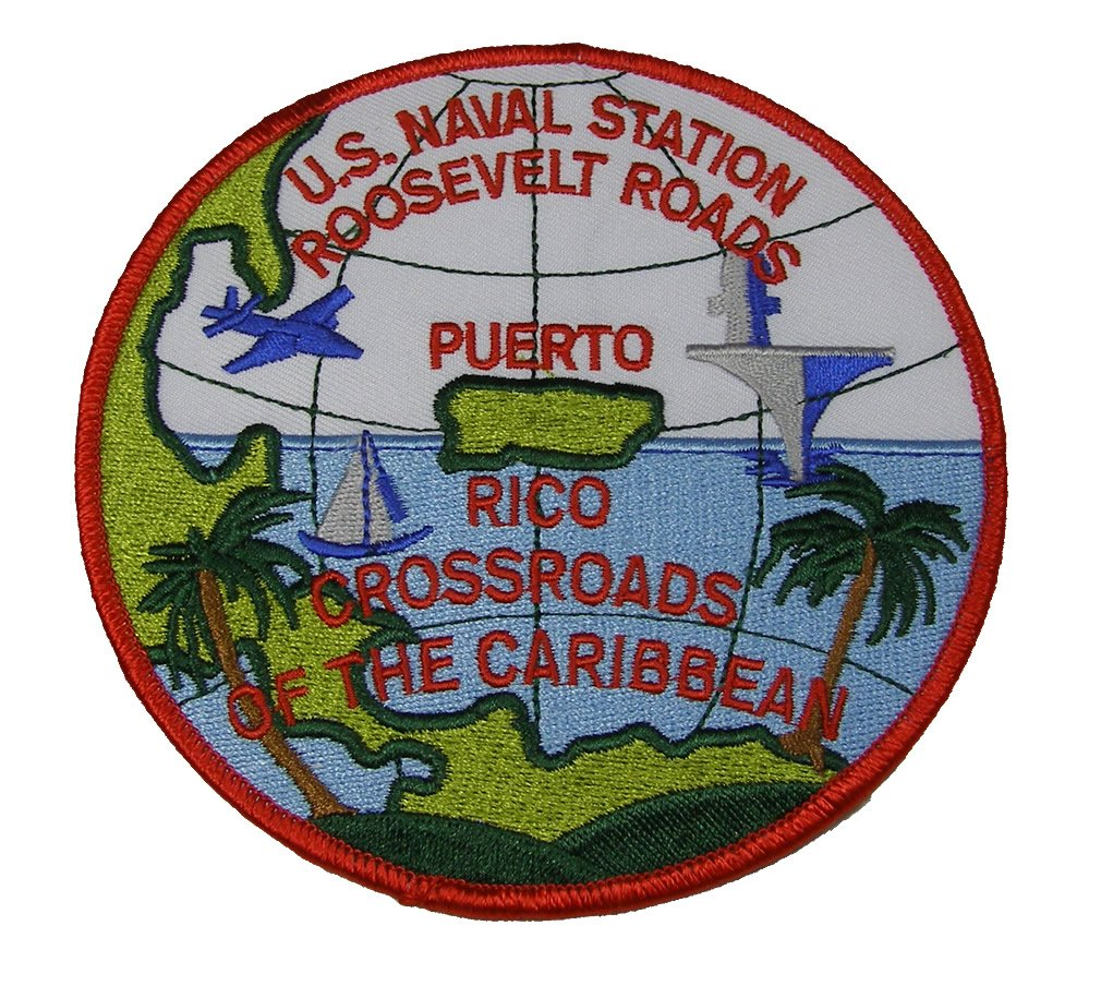 Estados Unidos estación Roosevelt Roads Naval puerto Rico redondo ...