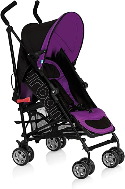 Innovaciones MS Urban - Silla de paseo + colchoneta, color malva ...