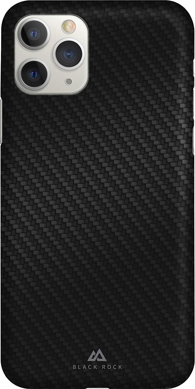 Black Rock Ultra Thin Iced Case Hülle Für Apple Iphone 11 Pro Fiber Cover Dünn Schlank Kabellos Laden Flex Carbon Schwarz Elektronik