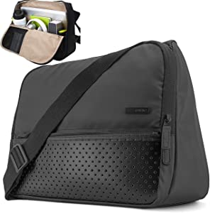 Laptop Bag Tablet Messenger Bag Briefcase Laptop Shoulder Bag Stand Up Multifunctional Pocket Travel Bag Computer Case Durable Tablet Sleeve for 15.6 inch Macbook Pro Business College Travel Women Men