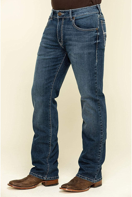 Reverb Stretch Slim Bootcut Jeans