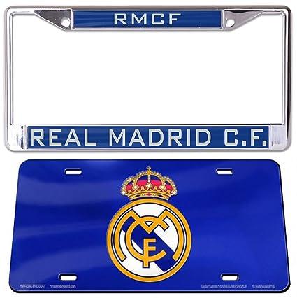 Amazon.com: WinCraft - Conjunto de 2 artículos: Real Madrid ...
