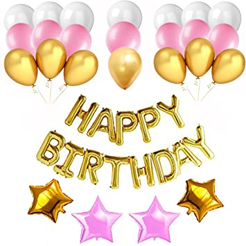 Amazon Com Happy Birthday Decorations Set Party Supplies Kit