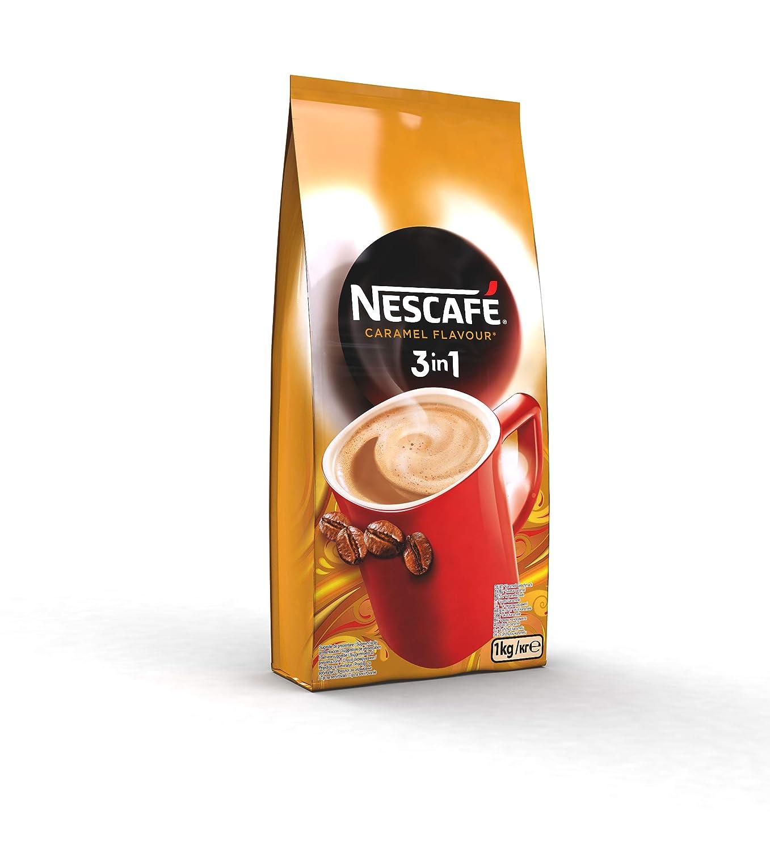 NESCAFÉ 3 en 1 - Café Soluble con Leche, Azúcar y Sabor Caramelo - 1000g: Amazon.es: Alimentación y bebidas