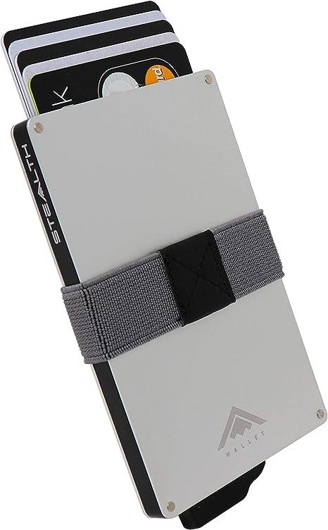 Nouveau Luxe RFID safe Ultra de luxe en cuir noir homme Trifold Wallet Coffret Cadeau