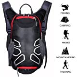 Cycling Backpack 15 L Riding Backpack Waterproof Hiking Daypack Travel Backpack Outdoors for Climbing \ Camping \ Fishing ( Black \ Blue \ Orange )