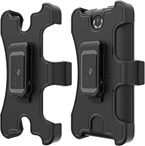 Belt Clip Holster for ZeroLemon ToughJuice 30000mAh Portable Battery Charger (Battery Charger is not Included) – Black