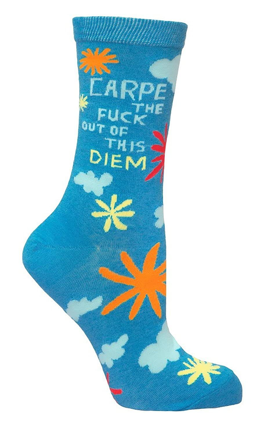 Blue Q Crew Socks SW415