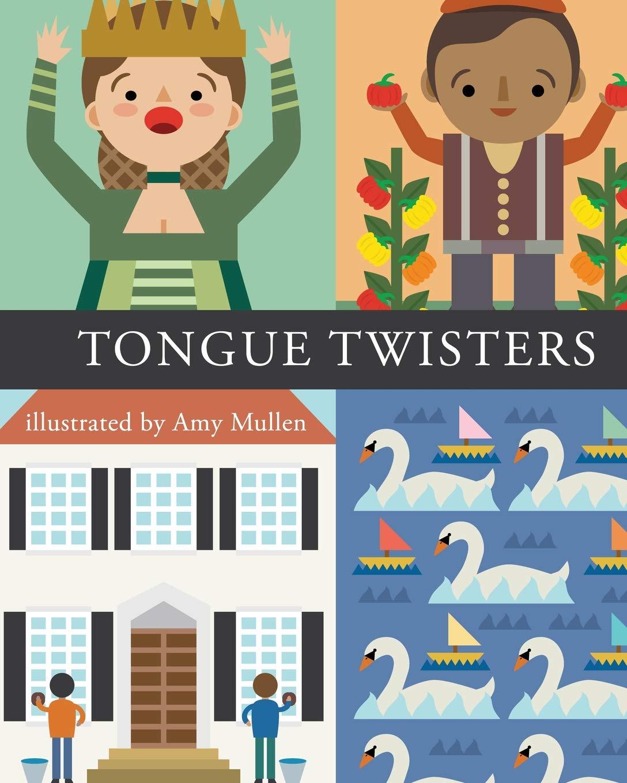 Amazon Tongue Twisters Amy Mullen Books