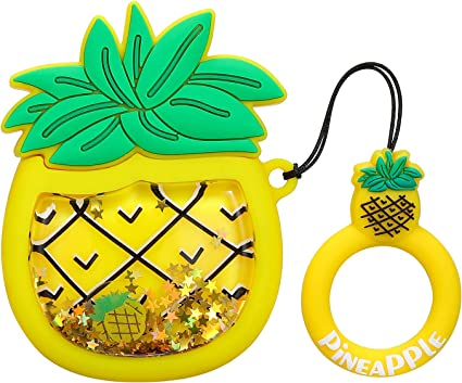 Amazon Com Joyleop Quicksand Pineapple Case Compatible With