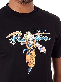 Primitive Camiseta Dragon Ball Z Collaboration - Nuevo Goku Saiyan Negro (S, Negro): Amazon.es: Ropa y accesorios