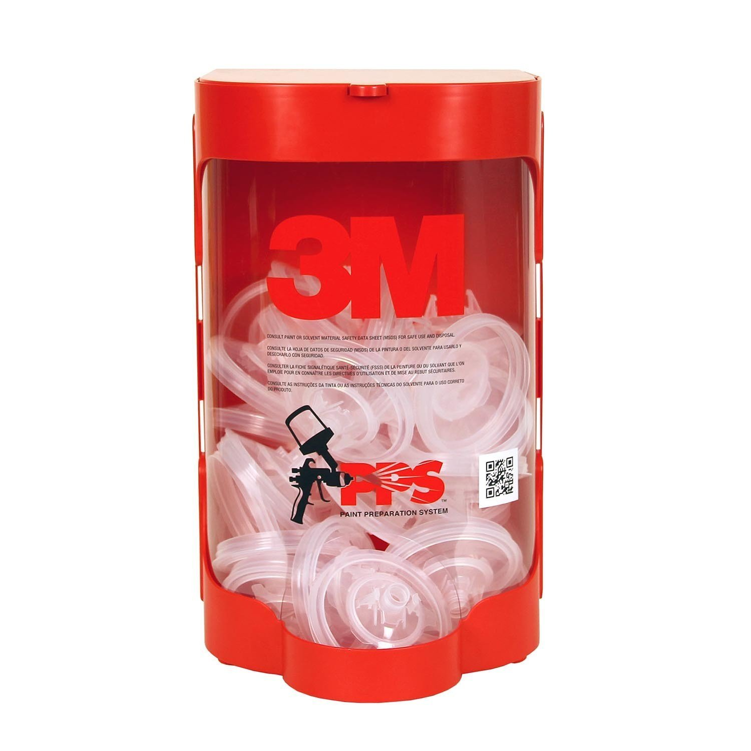 PPS Red 3M Lid Dispenser: Large, Standard, or Midi, 16299, 1 per case by PPS (Image #1)