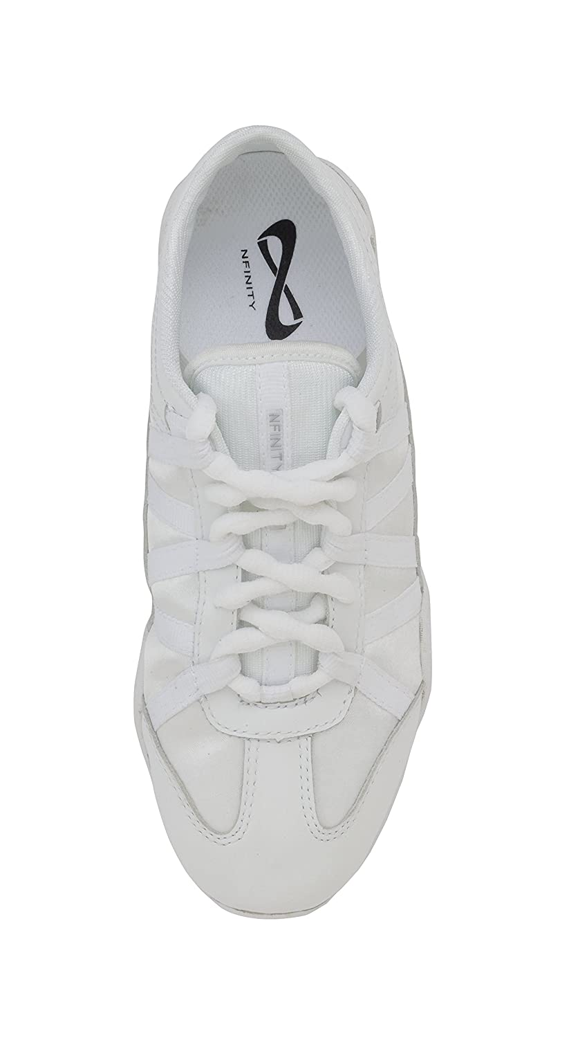 Nfinity B003ZVK736 Youth Evolution Cheer Shoes B003ZVK736 Nfinity Y13|White 72a54b